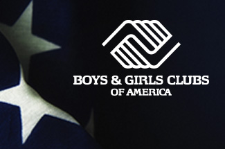 BGCA Logo on Flag