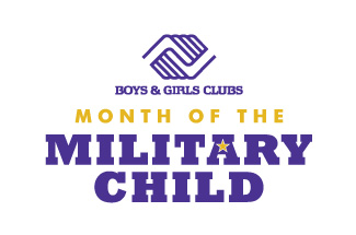 Month of the Military Child logo