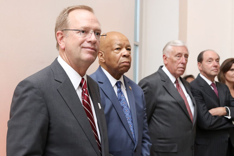 Boys & Girls Clubs of America President and CEO Jim Clark with Reps. Elijah Cummings and Steny Hoyer, and Ron Gidwitz at the 2016 Boys & Girls Clubs of America National Youth of the Year Celebration.