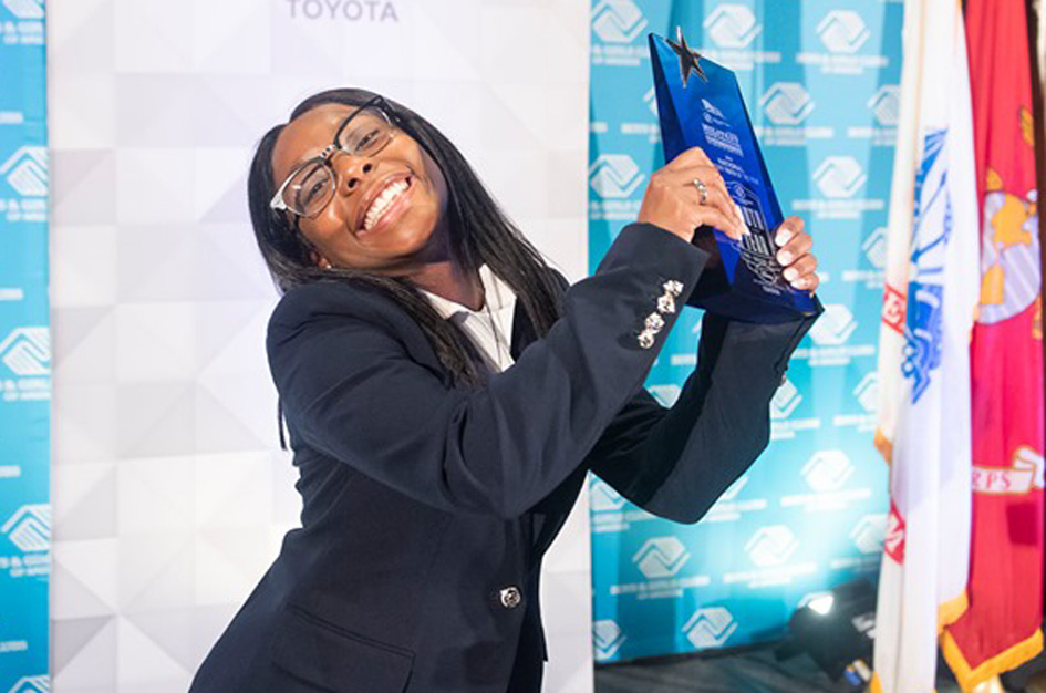 Dasia, Military Youth of the Year