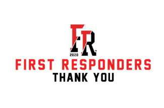 First Responders Thank You logo